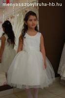 Fehér koszorús ruha
